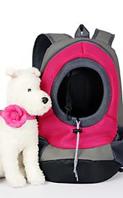 Кошка Собака Переезд и перевозные рюкзаки Животные Корзины Однотонный Компактность Дышащий Желтый Красный Зеленый Синий Розовый Для
