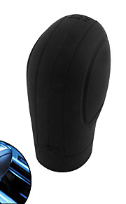 Czarny miękki silikon nonslip samochód shift knob gear stick cover protector
