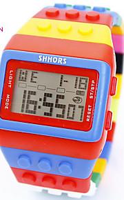 Homens Mulheres Quartzo Relógio de Pulso Relógio inteligente Relógio Militar Relógio Esportivo Cronógrafo Impermeável PU Banda Amuleto
