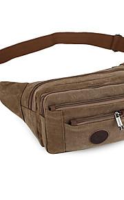 c61ca44b2c Τσαντάκια Μέσης Τσάντα στήθους 1 L - Φοριέται Εξωτερική Ψάρεμα Πεζοπορία  Αναρρίχηση Βαμβάκι Καφέ Πράσινο Χακί