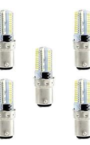 4W LED-kornpærer 80 SMD 3014 360 lm Varm hvit Hvit 3000-3500  6000-6500 K Mulighet for demping AC110 AC220 V