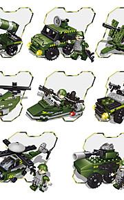 GDS-sæt Byggeklodser Militærkøretøjer Legetøj Kampvogn Køretøjer Militær Klassisk Nyt Design Voksne Stk.