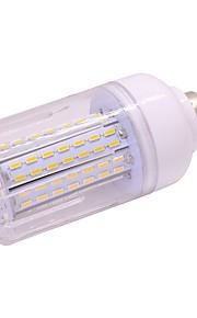 7w led corn lyser t 126 leds smd 5730 varm hvit kald hvit 650lm 2800-3500; 5000-6500k ac85-265v e27 / e14
