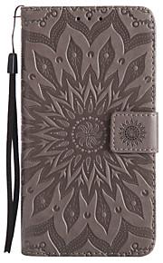 Custodia Per Samsung Galaxy J7 (2017) J3 (2017) A portafoglio Porta-carte di credito Con supporto Con chiusura magnetica Fantasia/disegno