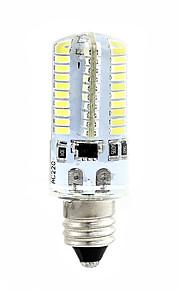 4W E14 LED-kornpærer T 80 SMD 3014 360 lm Varm hvit Hvit 3000-3500  6000-6500 K Mulighet for demping 110 220 V 1pc
