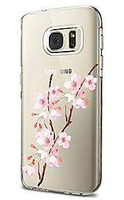Custodia Per Samsung Galaxy S8 Plus S8 Transparente Fantasia/disegno Custodia posteriore Fiore decorativo Morbido TPU per S8 S8 Plus S7