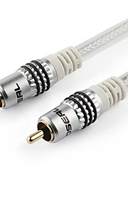 1RCA Adapter Cable 1RCA to 1RCA Adapter Cable Male - Male Gold-plated copper 12.0m(39Ft)