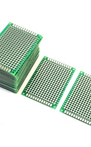 10Pcs Double Sided Protoboard Prototyping Pcb Board 4cm x 6cm