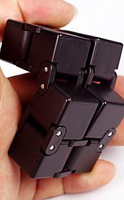 Evighedskube Fidget-legetøj til skrivebordet Magiske terninger Stresslindrende legetøj Nyhed Plast 1pcs Stk. Drenge Børne Voksne Gave