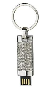 2g dig disk krystal pen drive pen drive smykker usb flash drive usb 2,0 jule gave