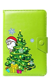 Universal Christmas PU Leather Stand Cover Case For 7 Inch 8 Inch 9 Inch 10 Inch Tablet PC