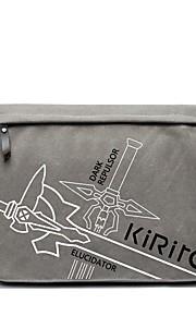 תיק קיבל השראה מ Sword Art Online Kirito אנימה אביזרי קוספליי קנבס