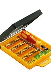 Kit de destornillador de precisión 32 en 1 con mango de pinza&bits hexagonales torx&destornillador multifunción