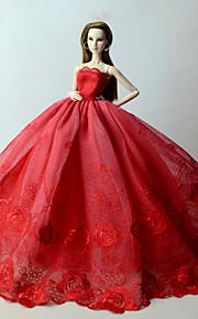 שמלות שמלות ל ברבי דול שמלות ל הילדה של בובת צעצוע