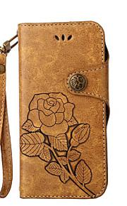 Custodia Per Samsung Galaxy S8 Plus S8 A portafoglio Porta-carte di credito Con supporto Con chiusura magnetica Fantasia/disegno Integrale