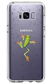 Custodia Per Samsung Galaxy S8 Plus S8 Ultra sottile Transparente Fantasia/disegno Custodia posteriore Animali Morbido TPU per S8 S8 Plus