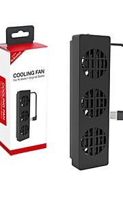 SWitch Typ-c Solfjädrar och Stativ för Nintendo Switch 15 Fläkt Trådbunden Typ-C > 480
