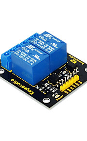 Keyestudio 2-Channel 5V Relay Module for Arduino ARM PIC AVR DSP Electronic