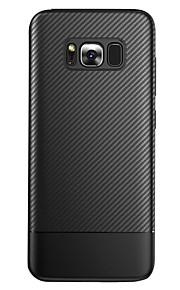 ケース 用途 Samsung Galaxy S8 Plus S8 つや消し バックカバー ライン/ウェイブ 純色 ソフト TPU のために S8 S8 Plus