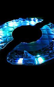 1st LED Night Light Uppladdningsbar Med USB-port USB Powered 0.5 Multi-Färgad