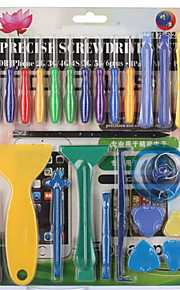 25 in 1 Mobile Phone Repair Tools Kit Screwdriver Set Spudger Pry Opening Tool For iPhone 4 5 6 iPad Samsung Hand Tools