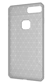 Case For Apple iPhone X iPhone 8 Plus Frosted Back Cover Solid Color Geometric Pattern Soft TPU for iPhone X iPhone 8 Plus iPhone 8
