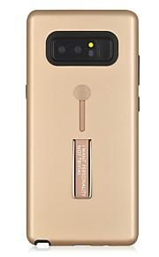 케이스 제품 Samsung Galaxy Note 8 충격방지 링 홀더 뒷면 커버 한 색상 갑옷 하드 PC 용 Note 8