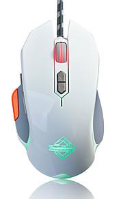 Aj-gt jeu de câble souris lol / cf ordinateur souris lampe de respiration peut être programmé