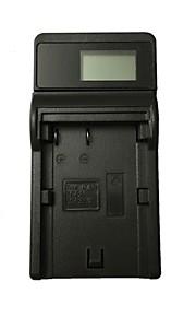 إزمارديجي bp511 لد أوسب كاميرا شاحن بطارية لكانون bp511 بب-511 512 522 535 يوس 300d 10d 20d 30d 40d 50d يوس 5d - أسود