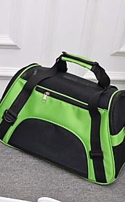Gato Cachorro mochila Animais de Estimação Transportadores Portátil Respirável Dobrável Sólido Roxo Verde Azul