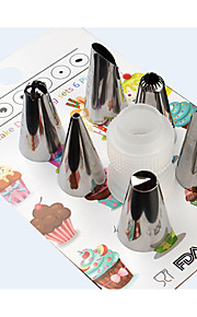 Cake Moulds Tube Formet Kake Til Brød Til Kake Rustfritt Stål + A-klasse ABS Multifunktion Non-Stick GDS baking Tool Høy kvalitet