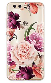 Etui Til Huawei P10 Lite Mønster Bagcover Blomst Blødt TPU for Huawei P10 Plus Huawei P10 Lite Huawei P10 Huawei P9 Huawei P9 Lite Huawei