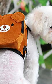 Gato Cachorro mochila Animais de Estimação Transportadores Mini Caminhada Portátil Dobrável Flexível Estampa Colorida Desenho Animado Fofo
