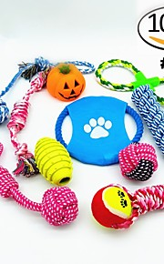 Hund Hundleksak Husdjursleksaker Interaktivt Snabbhet Slapp form Snöre För husdjur