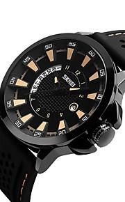 Homens Crianças Relógio Casual Relógio Esportivo Relógio de Moda Chinês Quartzo Calendário Impermeável Silicone Banda Luxo Casual Legal