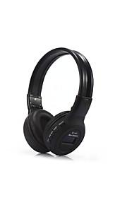 bs862 écouteurs sans fil en plastique téléphone portable écouteurs hifi avec microphone casque