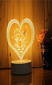 1 sæt 3d stemning nat lys hånd følelse dimbar usb powered gave lampe foreslå