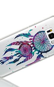 Custodia Per Samsung Galaxy S8 Plus S8 IMD Fantasia/disegno Per retro Glitterato Cacciatore di sogni Morbido TPU per S8 Plus S8 S7 edge S7