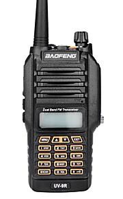Baofeng UV-9R Handheld Walkie Talkie IP67 Waterproof Two Way Radio Interphone Transceiver Dual Band 136-174/400-520MHz Ham Radio