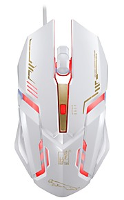 Chasing Panther V17 Wired USB Interface Game Mouse 6 Button Adjustable DPI