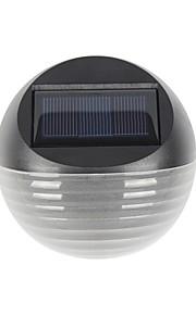 1pc varm / kølig hvid farve 6led sollys soldrevne hegn lampe halvcirkel have græsplæne væg lys