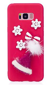 hoesje Voor Samsung Galaxy S8 Plus S8 Patroon DHZ Achterkantje Kerstmis Zacht TPU voor S8 Plus S8 S7