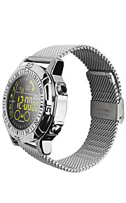 Smartwatch Time Display Water Resistant / Water Proof Calories Burned Pedometers Distance Tracking Message Reminder Call Reminder