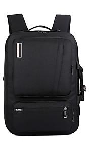 "Nylon Solid Backpacks 16"" Laptop"
