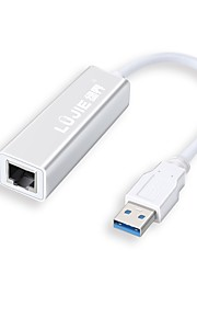 RJ45 Adapter Cable, RJ45 to USB 3.0 Adapter Cable Male - Female 0.25m(0.8Ft) 5.0 Gbps