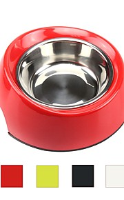 Cat Dog Outfits Feeders Pet Bowls & Feeding Multi layer Durable Green Red Black White