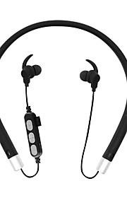 MS-T10 목 밴드 무선 헤드폰 동적 플라스틱 스포츠 및 피트니스 이어폰 볼륨 컨트롤 마이크 포함 헤드폰