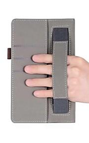 solide Muster Kunstlederhülle mit Handhalter für Huawei mediapad T3 7.0 Zoll Tablet PC
