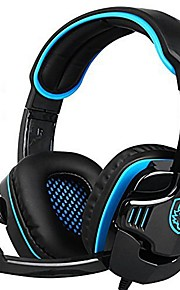 Sades 708Gt Gaming Headset with Microphone for Computer PC Gamer