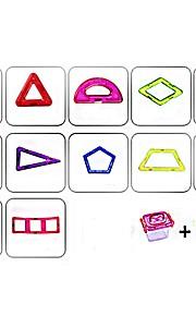 마그네틱 블록 장난감 트럭 건설차량 비행기 장난감 라운드 광장 전사 차 건축 사람 동물 운송기기 변형 가능 부모 - 자녀 상호 작용 아이 78 조각